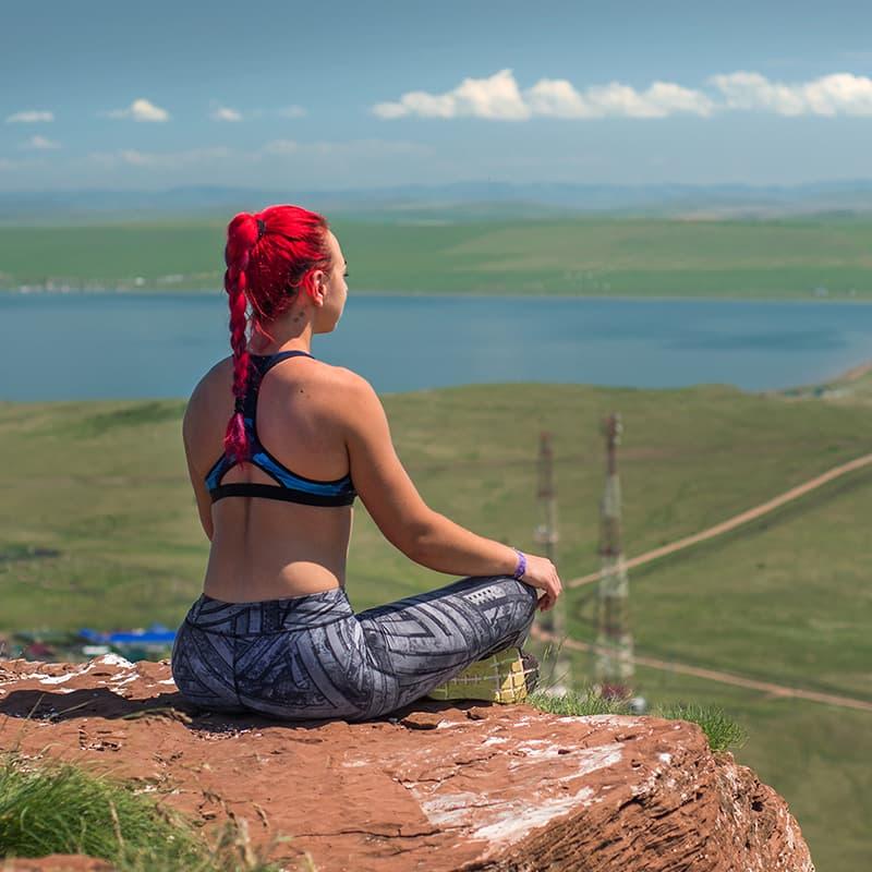 Вид с горы Чалпан во время похода Sprut Summer Camp