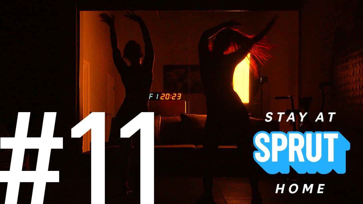 11 домашняя тренировка по кроссфиту SPRUT Stay-at-home