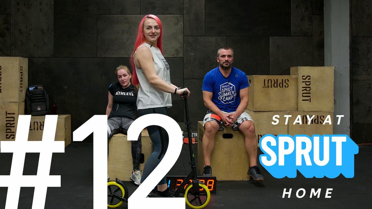 12 домашняя тренировка по кроссфиту SPRUT Stay-at-home