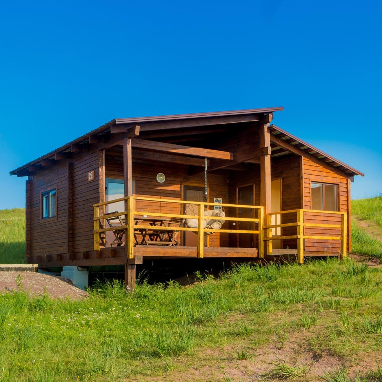 5-местный домик Комфорт