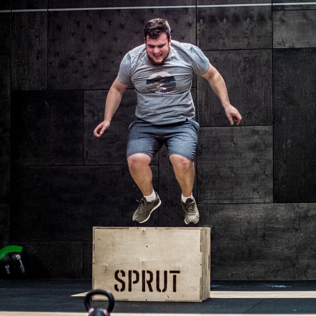 Вагиз на тренировке в CrossFit Sprut