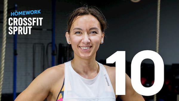 Тренировка CrossFit Sprut Homework 10