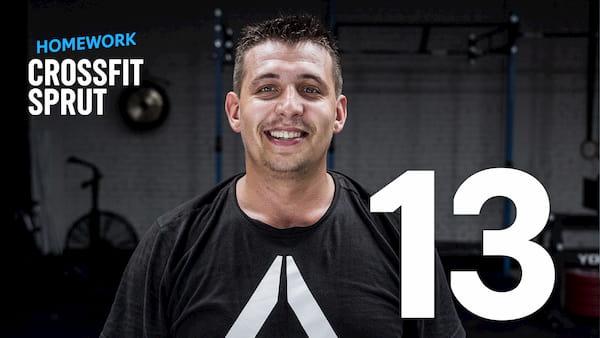 Тренировка CrossFit Sprut Homework 13