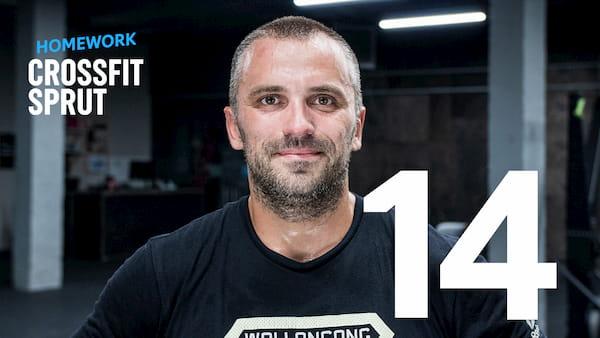 Тренировка CrossFit Sprut Homework 14