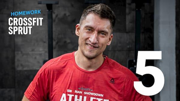 Тренировка CrossFit Sprut Homework 6