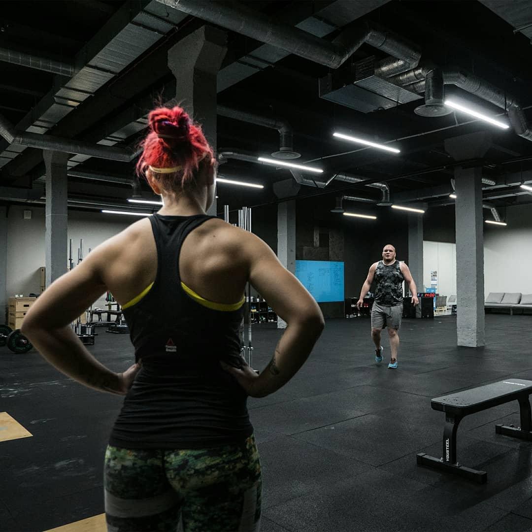 Индивидуальная тренировка по кроссфиту