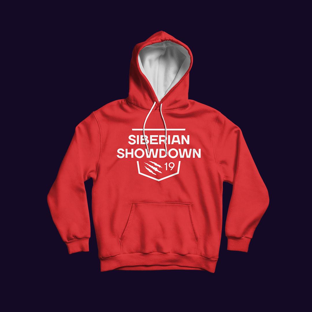 Толстовка с логотипом Siberian Showdown 2019