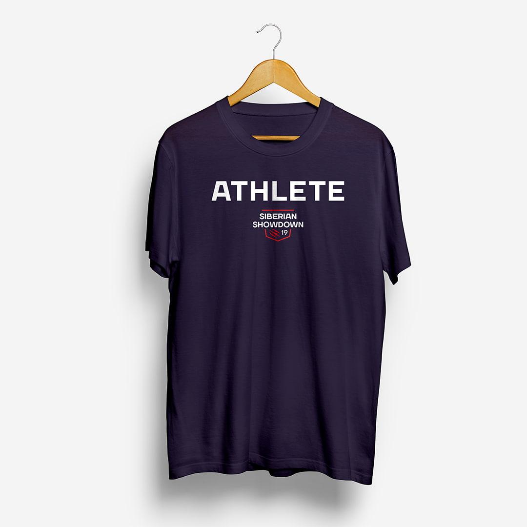 Футболка Athlete с логотипом Siberian Showdown 2019