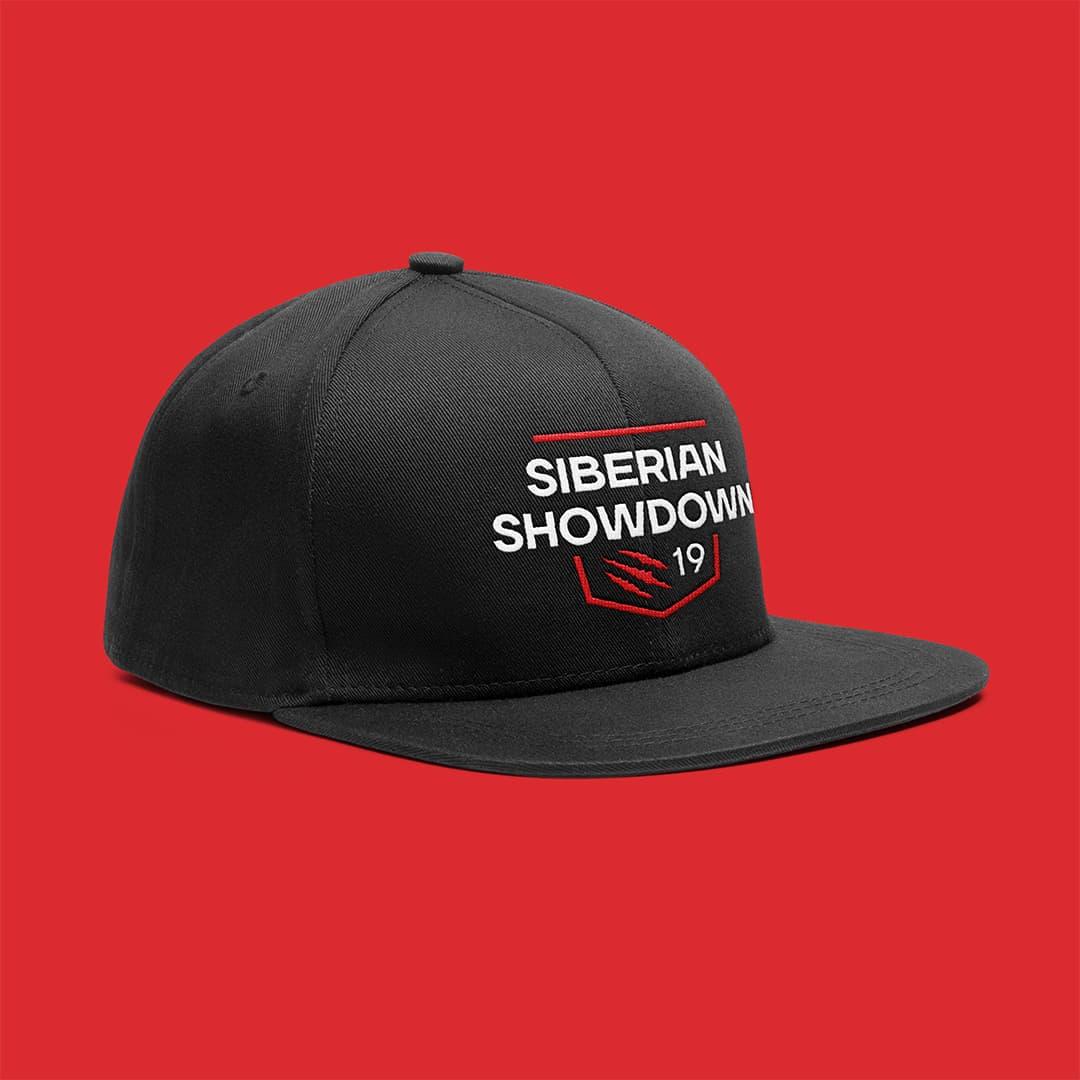 Кепка с логотипом Siberian Showdown 2019