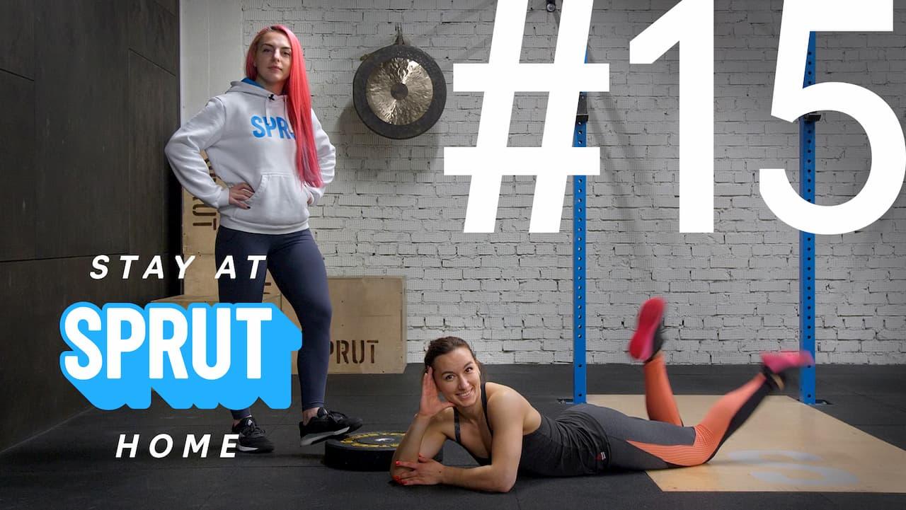 15 домашняя тренировка по кроссфиту SPRUT Stay-at-home