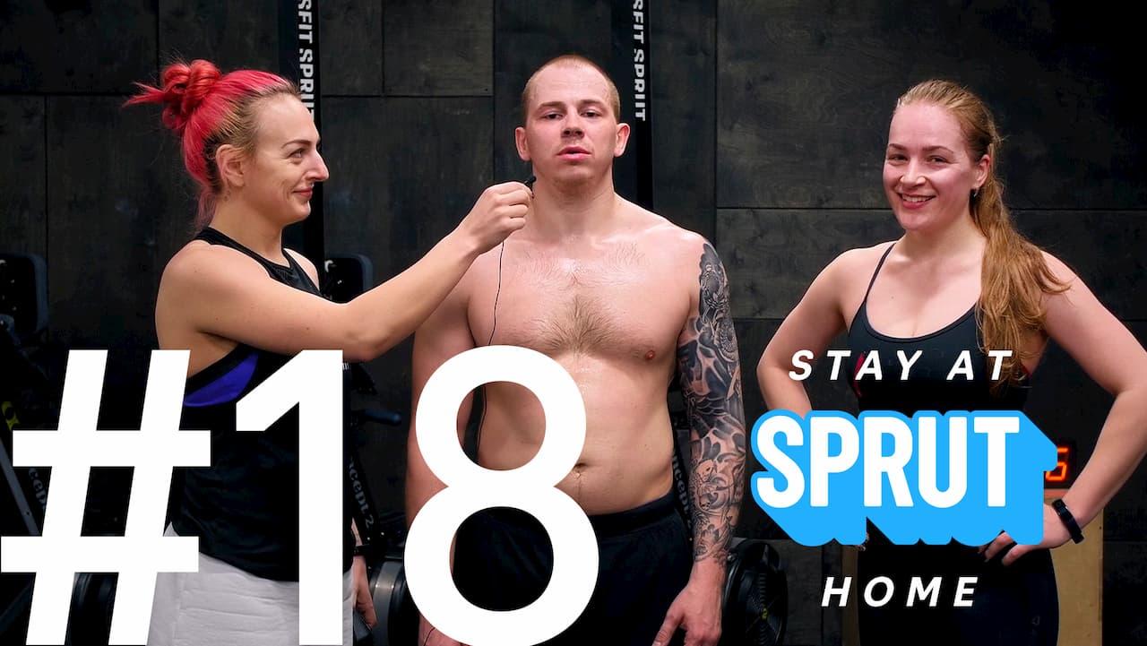 17 домашняя тренировка по кроссфиту SPRUT Stay-at-home