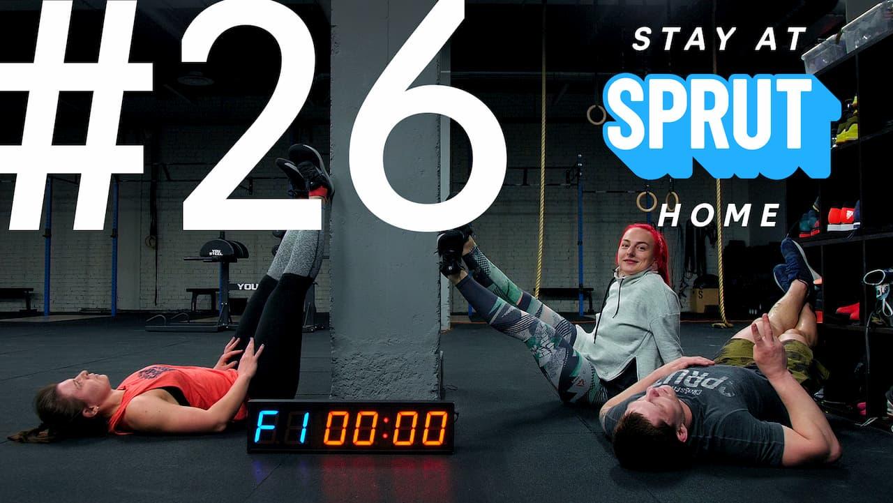 26 домашняя тренировка по кроссфиту SPRUT Stay-at-home