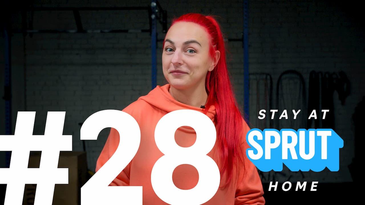 28 домашняя тренировка по кроссфиту SPRUT Stay-at-home
