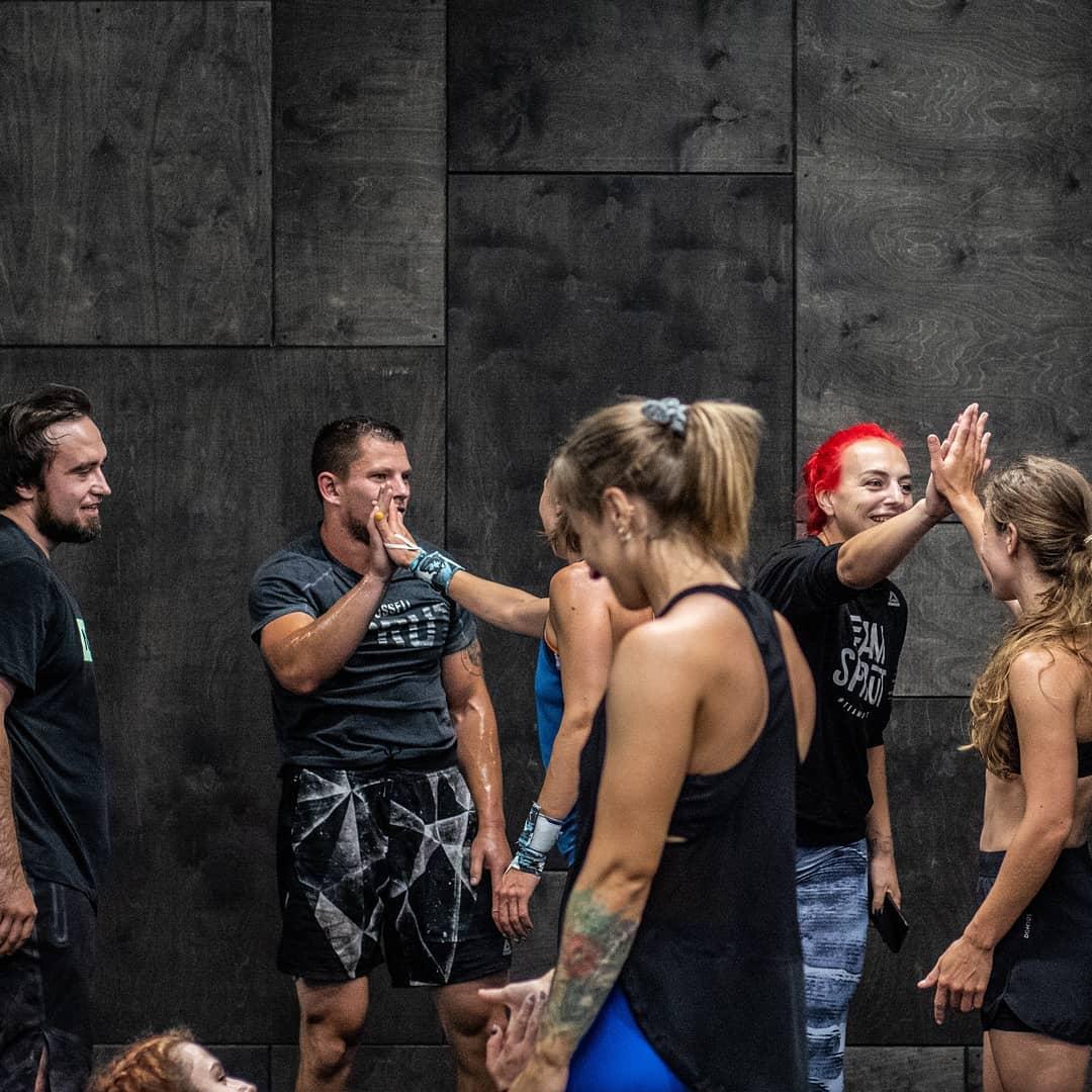 Тренировка United Friends в кроссфит-клубе Sprut